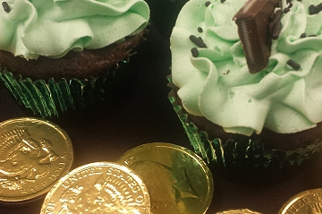 Win a free six pack of Chocolate Mint Cupcakes